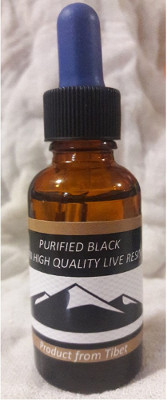 Purified Black Tibetan High Quality Live Resin